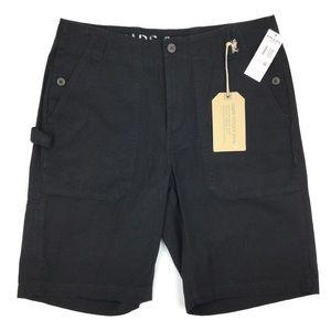 Chaps Men's Black Utility Shorts